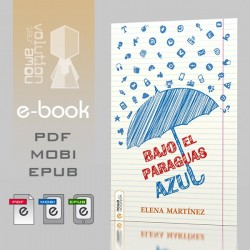Bajo el paraguas azul - ebook
