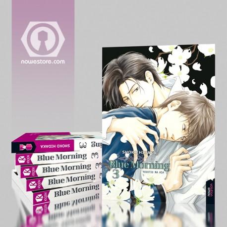 Blue morning 3 compra yaoi de calidad en Nowevolution con Shoko Hidaka como mejor autora