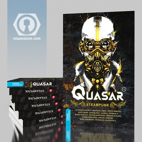 Quasar 4, Steampunk relatos ciencia ficción