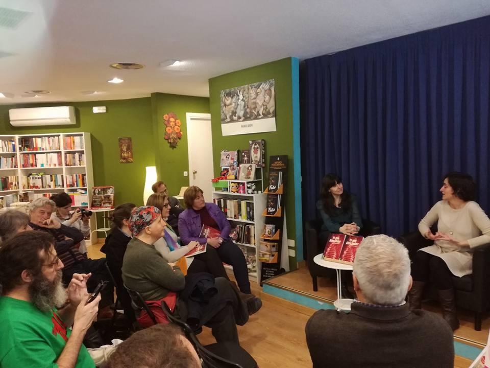 Presentación en Librería Serendipias de Tres Cantos, presentación de la novela El gen Alexander