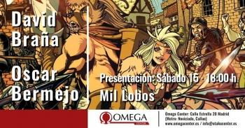 Mil lobos cómic español fantasía épica presentación Madrid