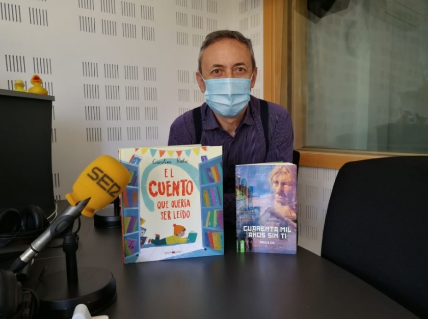 """Novela de ciencia ficción """"Cuarenta mil años sin ti"""" en cadena SER sur Madrid co..."""