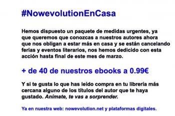 NowevolutionEnCasa más de cuarenta ebooks a un precio irresistible